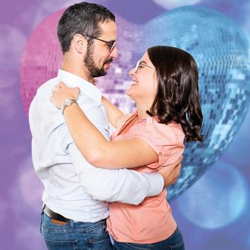 Liebe ist nicht abgesagt – Am Valentinstag Liebe durch gemeinsames Tanzen verschenken