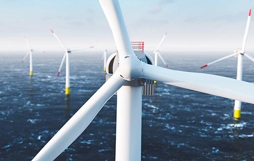 Offshore-Windenergie: Leichtbau ermöglicht große CO2-Einsparungen