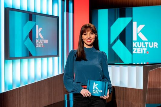 """3sat: Neue """"Kulturzeit""""-Moderatorin Lillian Moschen geht auf Sendung"""