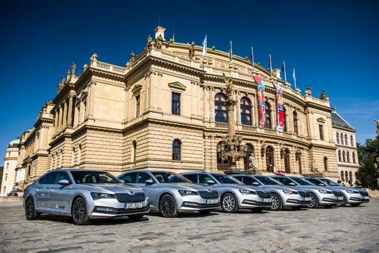 Benefizkonzert der Tschechischen Philharmonie anlässlich der 30-jährigen Zugehörigkeit von ŠKODA AUTO zum Volkswagen Konzern