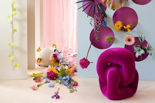 """Trendkollektion """"Crazy Illusions"""" / Blumen und Pflanzen laden ein ins Wunderland"""