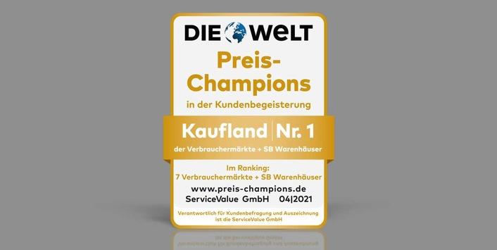 """""""Preis-Champion"""": Kaufland ist Branchenbester"""
