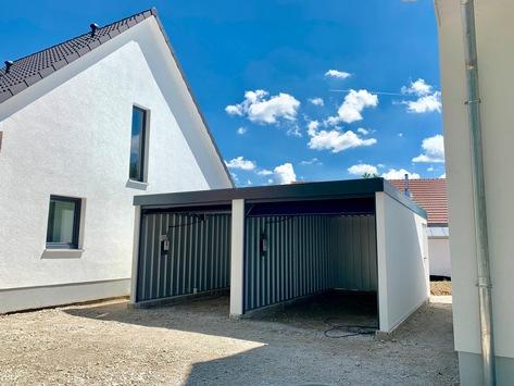 Carport mit Gerätehaus, Anbau oder Abstellraum Bayern