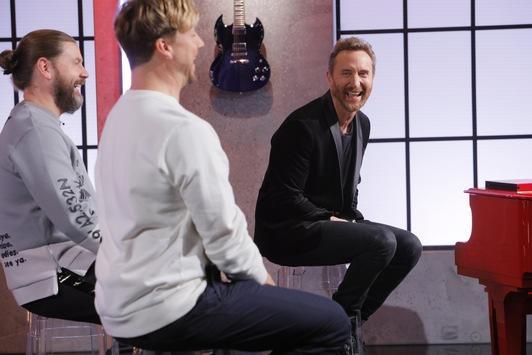 Überraschung für einen Weltstar: #TVOG-Talent Anastasia rührt Star-DJ David Guetta