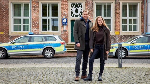 """ZDF-Drehstart für Samstagskrimis """"Ostfriesenmoor"""" und """"Ostfriesenfeuer"""""""