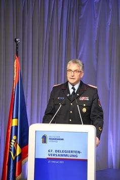 Karl-Heinz Banse ist neuer Präsident des Deutschen Feuerwehrverbandes / Delegierte wählen 58-Jährigen aus Niedersachsen in digitaler Sitzung