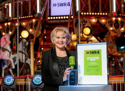 """Peggy March: """"Ich wollte immer nur singen."""" / Schlagerstar mit dem """"SWR4 Musikpreis 2020"""" für Lebenswerk ausgezeichnet"""