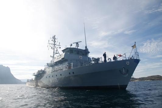"""Drei Monate Einsatz in Nord- und Ostsee: Minenjagdboot """"Homburg"""" kommt nach Hause"""