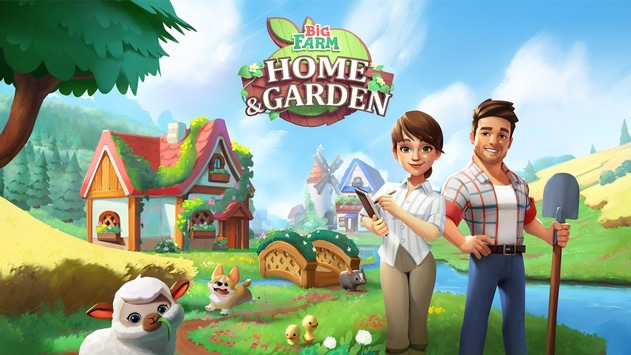 Goodgame Studios erweitert die Marke BIG FARM um neuen Match-3-Titel Big Farm: Home & Garden