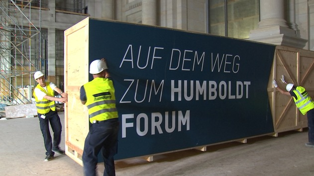 """3satKulturdoku """"Countdown Humboldtforum"""" / Ein Blick hinter die Kulissen kurz vor der Eröffnung"""