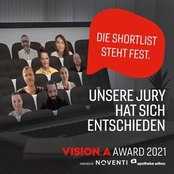 VISION.A Awards: 43 Beiträge auf der Shortlist / Preisverleihung am 1. September
