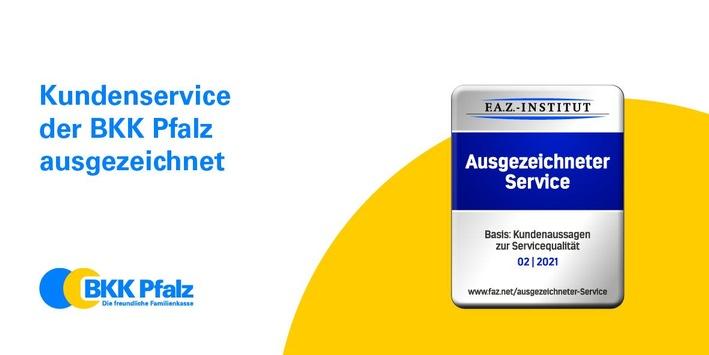 BKK Pfalz erhält Auszeichnung für Kundenservice