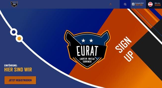 EURAT.gg: erste & einzige europäische Amateur E-Sports Plattform