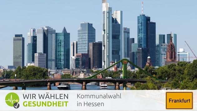 """Frankfurt: Eine Sozialambulanz für die Drogenszene / Kommunalpolitiker sprechen bei health tv über einen neuen Frankfurter Weg in der Drogenpolitik und """"Allianz für Care-Berufe"""""""