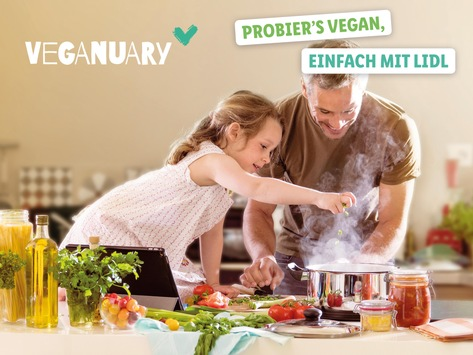 Veganuary bei Lidl: Neue vegane Produkte und Rezepte auf Lidl-Kochen.de