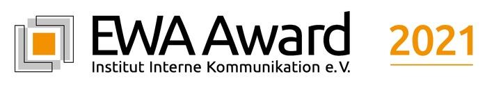 """EWA Award geht in die fünfte Runde / Neuorganisation im Online-Sektor / Neue Auszeichnung """"Mitarbeiter*innen-wertschätzendes Unternehmen 2021"""" / Einsendeschluss: 15. Oktober 2021"""