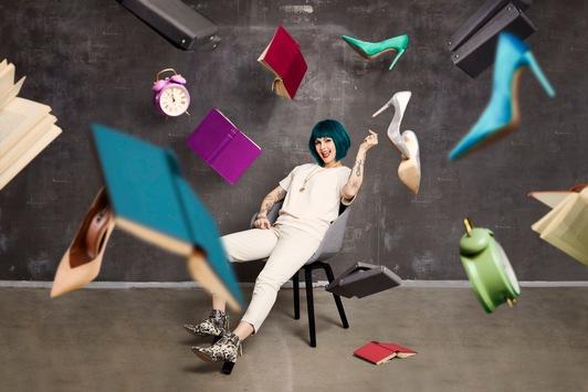 """Aufräumen schön gemacht! Decorganizing-Profi Isabella Franke verwandelt Home-Chaos in stylisches Interior – ab 17. April 2021 in """"Organize 'n Style"""" auf sixx"""