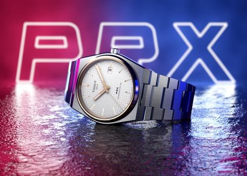 Stylisch durch den Sommer: Tissot PRX Uhr im Retrodesign / Gestern und heute eine Ikone