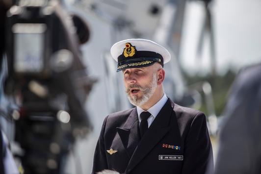 Kommandowechsel – neuer Chef für die Hubschrauberflotte der Marine