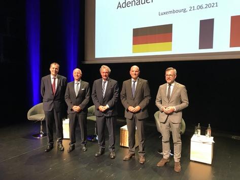 Adenauer-De Gaulle-Preis 2020 / DRF Luftrettung und Luxemburg Air Rescue ausgezeichnet