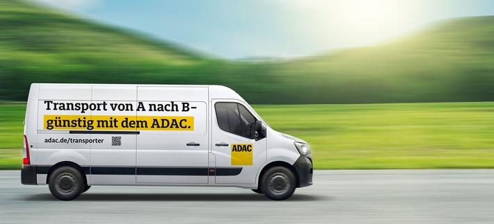 Checkliste für den Do-it Yourself-Umzug / Früh genug mit der Planung beginnen / ADAC Kleintransporter als Umzugswagen reservieren / Helfende Hände organisieren