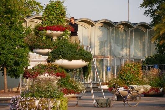 Ein Garten als Zeitreise / Von der IGA 1961 zur BUGA 2021