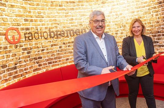 Für die Menschen in Bremerhaven: Radio Bremen eröffnet neues Studio