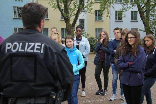 BPOL NRW: Girls´Day bei der Bundespolizei – Steh deine Frau