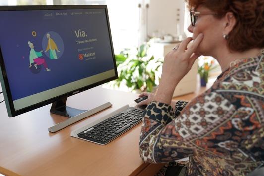 Malteser bieten Trauerbegleitung im Internet an