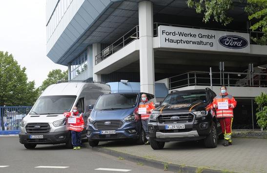Ford hilft Flutopfern: Allradfahrzeuge und Transporter für Helfer und Rettungskräfte im Rhein-Erft-Kreis