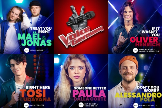 Schöne Bescherung! Die #TVOG-Finalisten veröffentlichen ihre ersten eigenen Singles / Das große Live-Finale am Sonntag, 20:15 Uhr in SAT.1