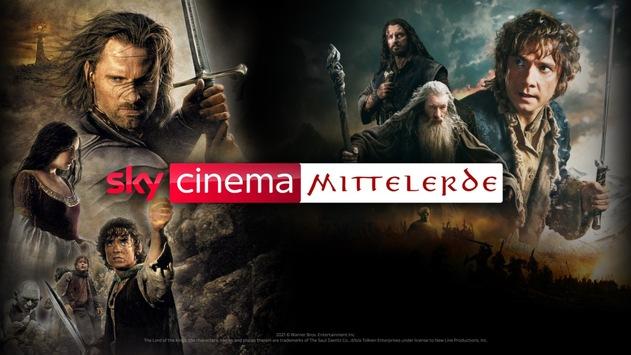 """Sky Cinema Mittelerde: Fantastische Ostern mit allen """"Der Herr der Ringe""""- und """"Der Hobbit""""-Filmen ab Donnerstag bei Sky und Sky Ticket"""