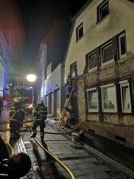 FW-MK: Blitzeinschläge, Verkehrsunfall und viele Rettungsdiensteinsätze