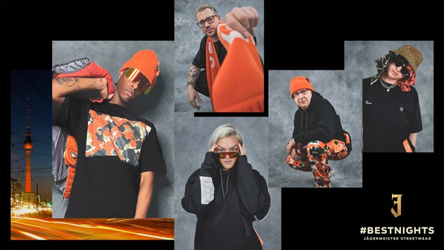 "Jägermeister launcht limitierte ""BEST NIGHTS"" Streetwear Kollektion"