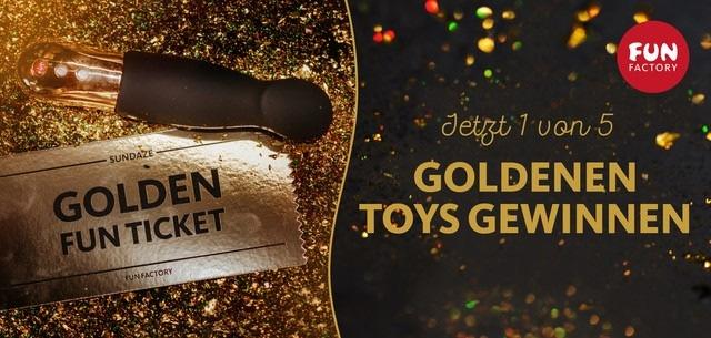 GO FOR GOLD – Gewinne jetzt 1 von 5 limitierten SUNDAZE aus Gold