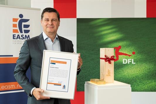 Christian Seifert mit dem EASM European Sport Manager Award geehrt