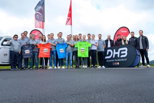 Sicherheit im Fokus / DHB-Schiedsrichter*innen absolvieren Fahrsicherheitstraining mit Sponsor KÜS