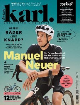 Gefühl von Freiheit: Manuel Neuer und Angelique Kerber schwärmen im Magazin Karl vom Radfahren