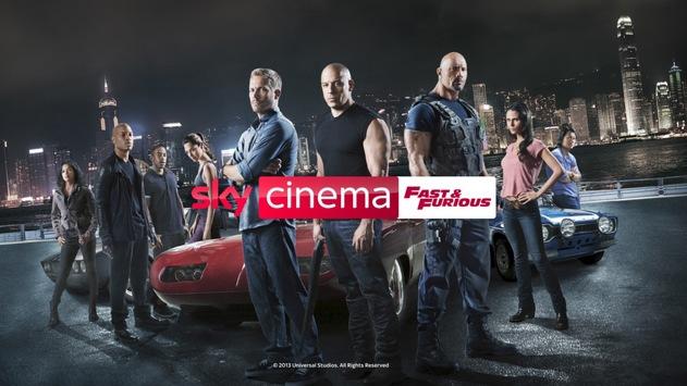 """Alle acht bisherigen """"Fast & Furious""""-Filme jetzt auf Sky Ticket und im August rund um die Uhr auf Sky Cinema Fast & Furious"""