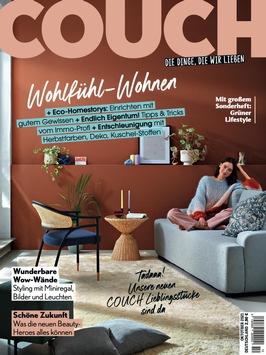 COUCH LIEBLINGSSTÜCKE: Launch der dritten Living-Kollektion bei OTTO / Rund 50 neue Möbel, Accessoires und Heimtextilien mitentwickelt von der COUCH-Redaktion