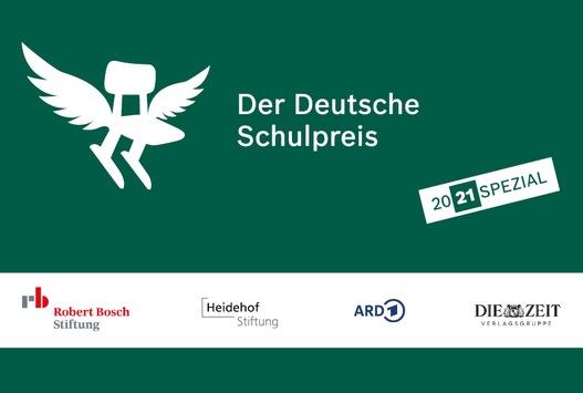 Terminhinweis: Der Deutsche Schulpreis 20 21 SPEZIAL – Preisverleihung mit Bundespräsident Steinmeier am 10. Mai