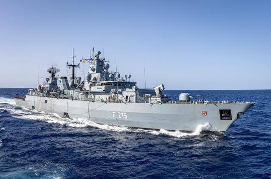 """Willkommen zurück: Fregatte """"Brandenburg"""" beendet NATO-Einsatz in der Ägäis"""