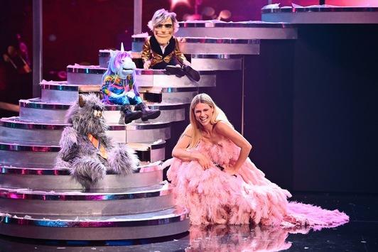 """Erste exklusive Bilder aus dem """"Pretty in Plüsch""""-Studio: Hier lassen die Star-Puppen Michelle Hunziker tanzen"""