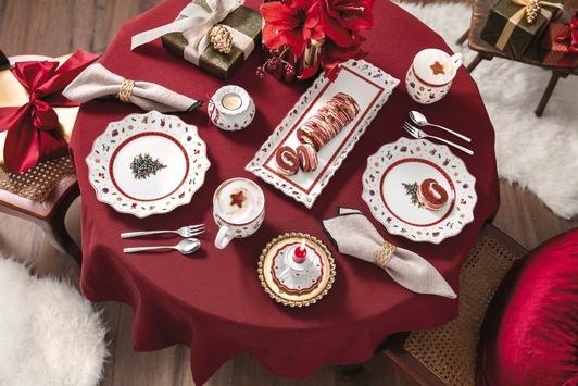 Feierliche Wohlfühl- und Genussmomente / Festlich tafeln mit den Weihnachtskollektionen von Villeroy & Boch
