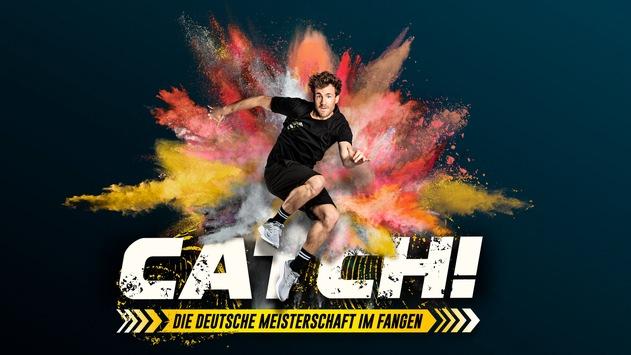 """Sportlich ins neue Jahr: Jasmin Wagner, David Odonkor oder Sebastian Ströbel – wer fängt Luke Mockridge? """"CATCH! Die Deutsche Meisterschaft im Fangen 2021"""" am Freitag in SAT.1"""