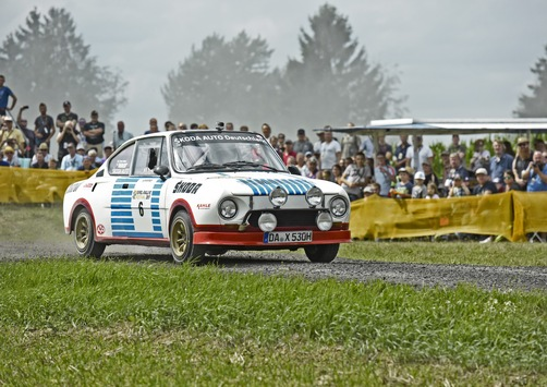 ŠKODA startet mit Rallye-Legenden bei der Sauerland Klassik durchs 'Land der 1.000 Berge'
