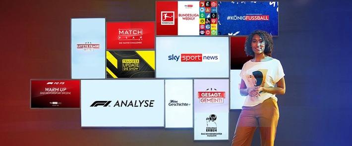 Mehr als Sportnachrichten – exklusiv für alle Sky Kunden: Sky Sport News ist ab sofort wieder Teil des Sky Abonnements