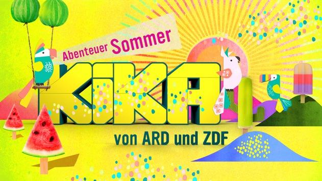 """""""Abenteuer Sommer"""": jede Menge Abwechslung im Ferienangebot bei KiKA / Ab 5. Juli die wärmste Zeit des Jahres mit Serien- und Filmhighlights genießen"""