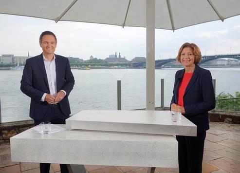 """""""SWR Aktuell Sommerinterview"""" mit Malu Dreyer (SPD) am 9.7., 19:30 Uhr im SWR Fernsehen"""