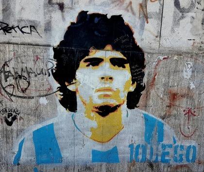 """Argentinien präsentiert die """"Maradona-Tour"""""""